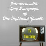 Interview with Amy Dacyczyn — TV Thursday