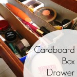 Cardboard Box Drawer Dividers — Make Do and Mend