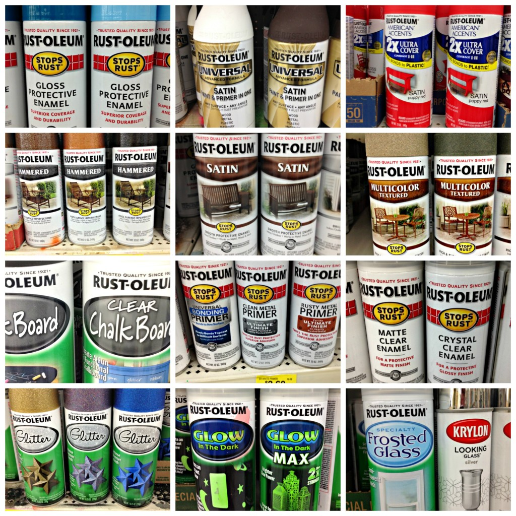 Rust-oleum products at Walmart!