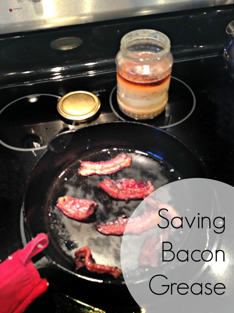 Saving Bacon Grease