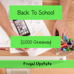 Back to School $1000 Cash Giveaway
