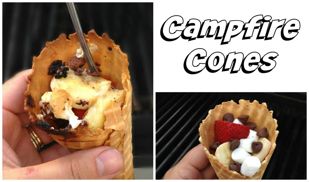 Campfire Cones for Summer
