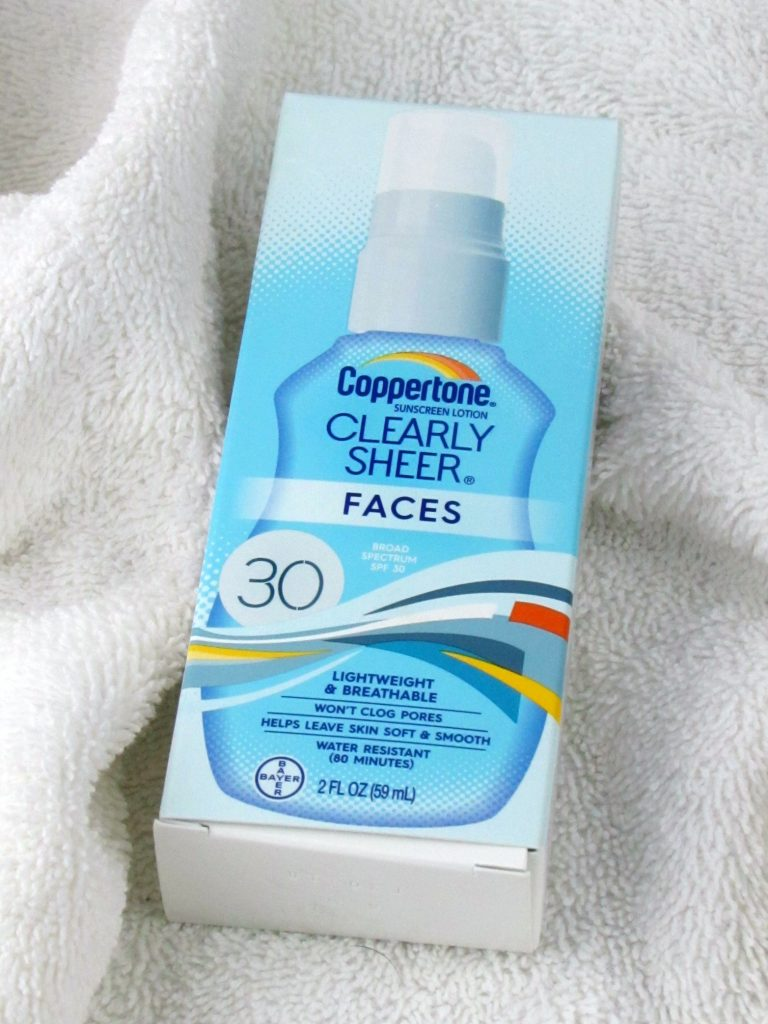 Coppertone Clearly Sheer Faces SPF 30