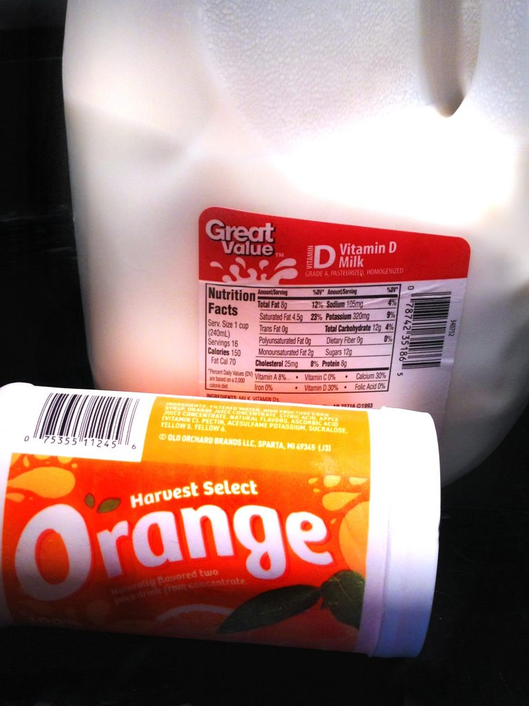 Orange Julius Ingredients