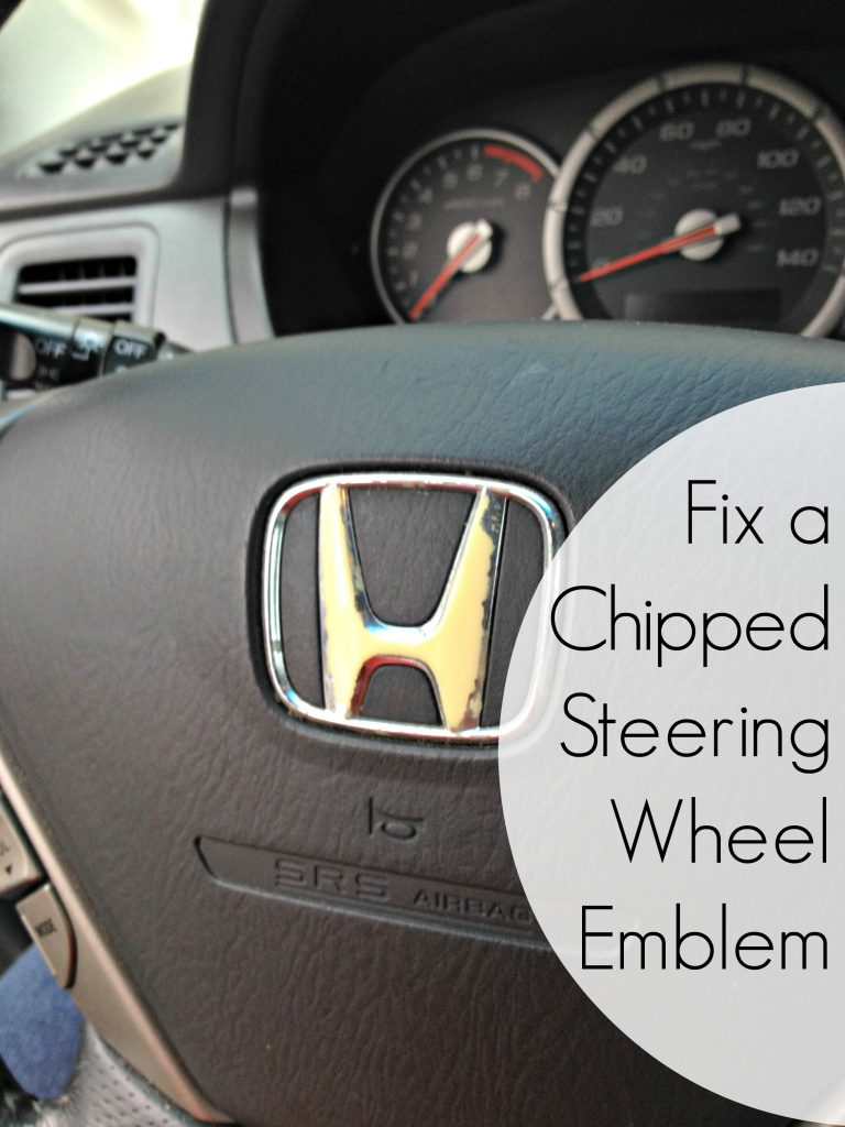 fix-a-chipped-steering-wheel-emblem