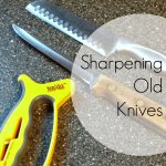 Sharpening Knives — Make Do and Mend